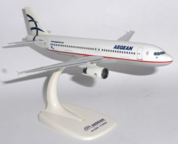 Airbus A320 Aegean Airways Greece Collectors Model Scale 1:200 Branded Box E